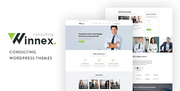 Winnex - Business Consulting WordPress Themes