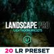 Landscape Pro Moody Lighroom Presets - GraphicRiver Item for Sale