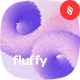 Fluffy - Hairy Twisted Shapes Background Set - GraphicRiver Item for Sale