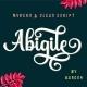 Abigile - GraphicRiver Item for Sale