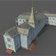 Old Abandoned Wooden Mansion - 3DOcean Item for Sale