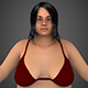 Realistic Fat Woman - 3DOcean Item for Sale