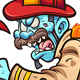 Zombie Fireman - GraphicRiver Item for Sale