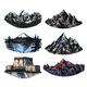 Set of Mountains Peaks, Vintage Rock, Old - GraphicRiver Item for Sale