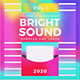 Bright Sound Music Album Web Cover Artwork Template - GraphicRiver Item for Sale