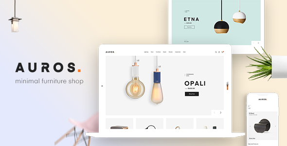 Auros - Furniture Elementor WooCommerce Theme