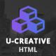 U-Creative - Onepage HTML Template - ThemeForest Item for Sale