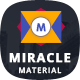 Miracle - Material Design HTML Template - ThemeForest Item for Sale