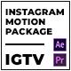 Clouder | Motion Pack for IGTV Instagram - VideoHive Item for Sale