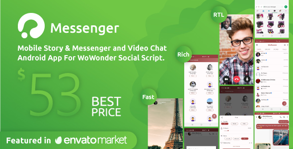Codecanyon | WoWonder Android Messenger - Mobile Application for WoWonder Social Script Free Download #1 free download Codecanyon | WoWonder Android Messenger - Mobile Application for WoWonder Social Script Free Download #1 nulled Codecanyon | WoWonder Android Messenger - Mobile Application for WoWonder Social Script Free Download #1