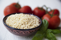 Bowl of Dried Orzo Pasta - PhotoDune Item for Sale