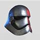 Phasma Helmet PBR Low Poly - 3DOcean Item for Sale