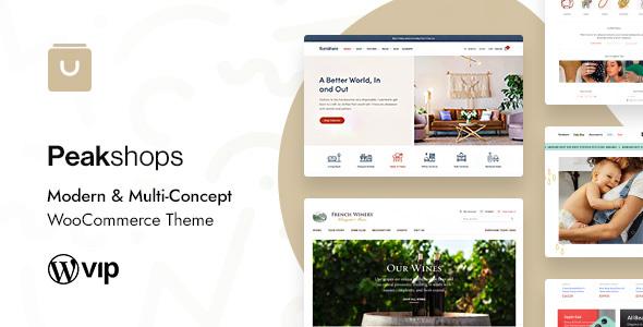 Review: PeakShops - Modern & Multi-Concept WooCommerce Theme free download Review: PeakShops - Modern & Multi-Concept WooCommerce Theme nulled Review: PeakShops - Modern & Multi-Concept WooCommerce Theme