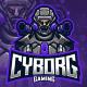 Cyborg Esport Logo - GraphicRiver Item for Sale