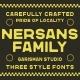 Nersans - Vintage Font - GraphicRiver Item for Sale