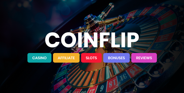 Photo of Coinflip – Casino Affiliate WordPress Theme Full Download