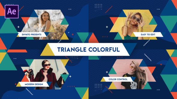 Triangle Colorful Opener