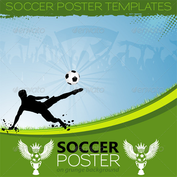 Soccer Poster Graphics Designs Templates From Graphicriver