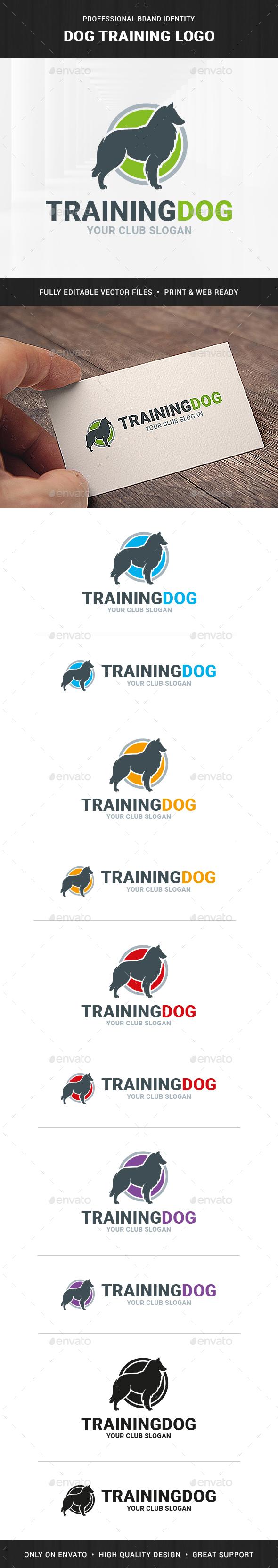 Dog Training Logo Template