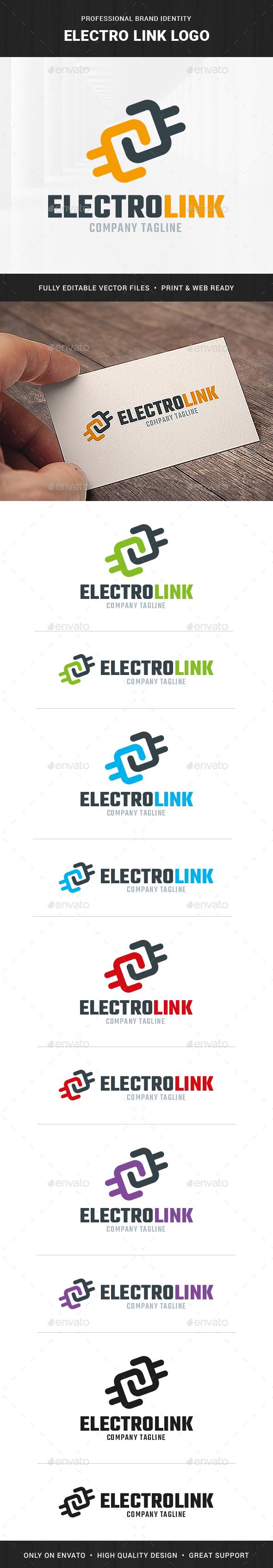 Electro Link Logo Template