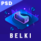 Belki - Virtual Reality Investment PSD Template - ThemeForest Item for Sale