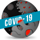 Cartoon Coronavirus Dark - VideoHive Item for Sale