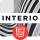 Interio — Creative Agency HTML Template - ThemeForest Item for Sale