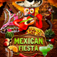 Mexican Fiesta Flyer Template - GraphicRiver Item for Sale