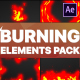 Burning Elements   After Effects - VideoHive Item for Sale