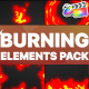Burning Elements   FCPX - VideoHive Item for Sale