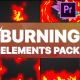 Burning Elements   Premiere Pro MOGRT - VideoHive Item for Sale