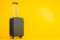 Black color luggage or baggage bag use for transportation travel - PhotoDune Item for Sale