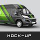 Citroen Jumper Van Mockup - GraphicRiver Item for Sale
