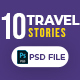 Travel 10 Instagram Stories - GraphicRiver Item for Sale