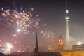 View over Berlin on New Years Eve 2013 - PhotoDune Item for Sale