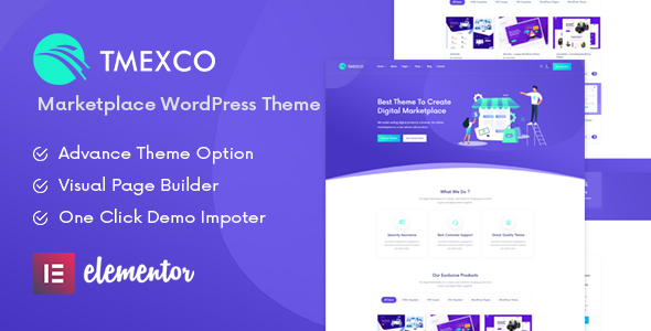 Tmexco – Digital Marketplace WooCommerce Theme Preview