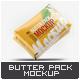 Butter Pack Mock-Up - GraphicRiver Item for Sale