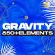 Gravity | Social Media and Broadcast Pack - VideoHive Item for Sale