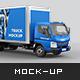 Mitsubishi Fuso Truck Mockup - GraphicRiver Item for Sale