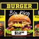 Black Restaurant Menu - Food Promo - VideoHive Item for Sale