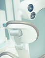 Dental chair with tools and accessories used by dentists in stomatology office - PhotoDune Item for Sale
