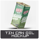Tin Can Olive Oil Mock-Up - GraphicRiver Item for Sale