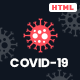 Covid-19 - Coronavirus Medical Prevention Template - ThemeForest Item for Sale
