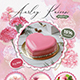 Pastry / Cake Flyer + Business Card - GraphicRiver Item for Sale