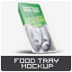 Plastic Food Tray Mock-Up - GraphicRiver Item for Sale