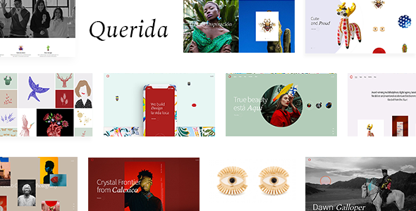 Querida - Creative Agency Theme