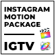 Clouder - FCPX Motion Pack for IGTV Instagram - VideoHive Item for Sale