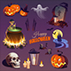 Halloween Elements and Objects. - GraphicRiver Item for Sale