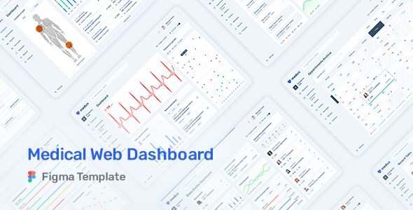 Medux – Web Dashboard UI Kit for Figma