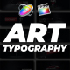 Art Typography || FCP X - VideoHive Item for Sale